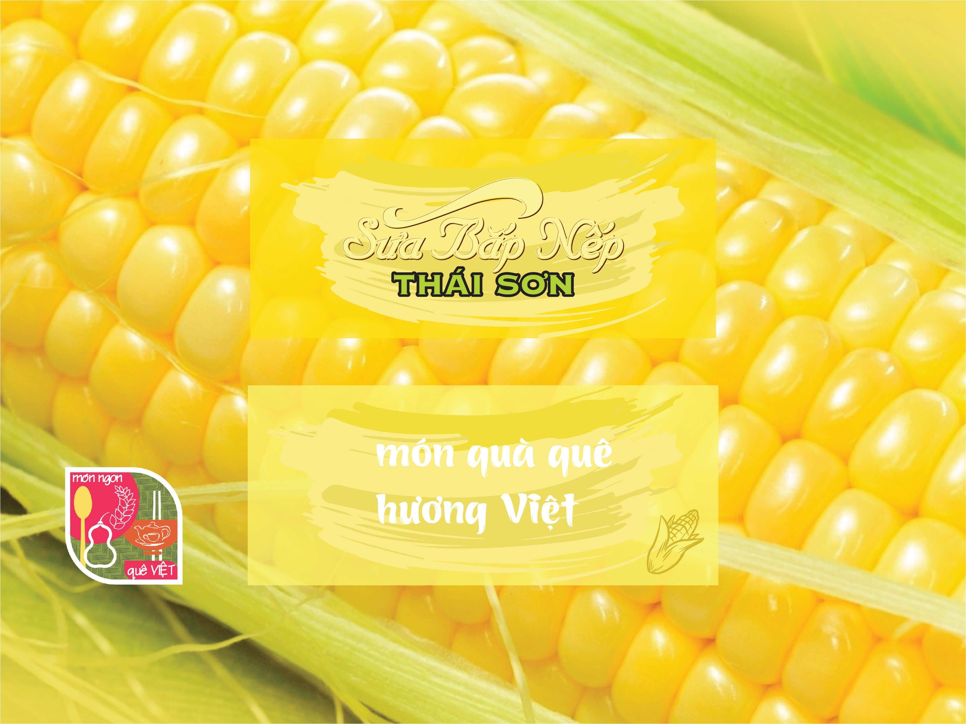 Sữa Bắp Thái Sơn - Món Ngon Quê Việt - 002