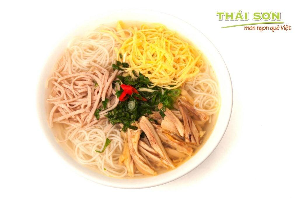 Bún Thang- một trong các món bún ngon miền Bắc